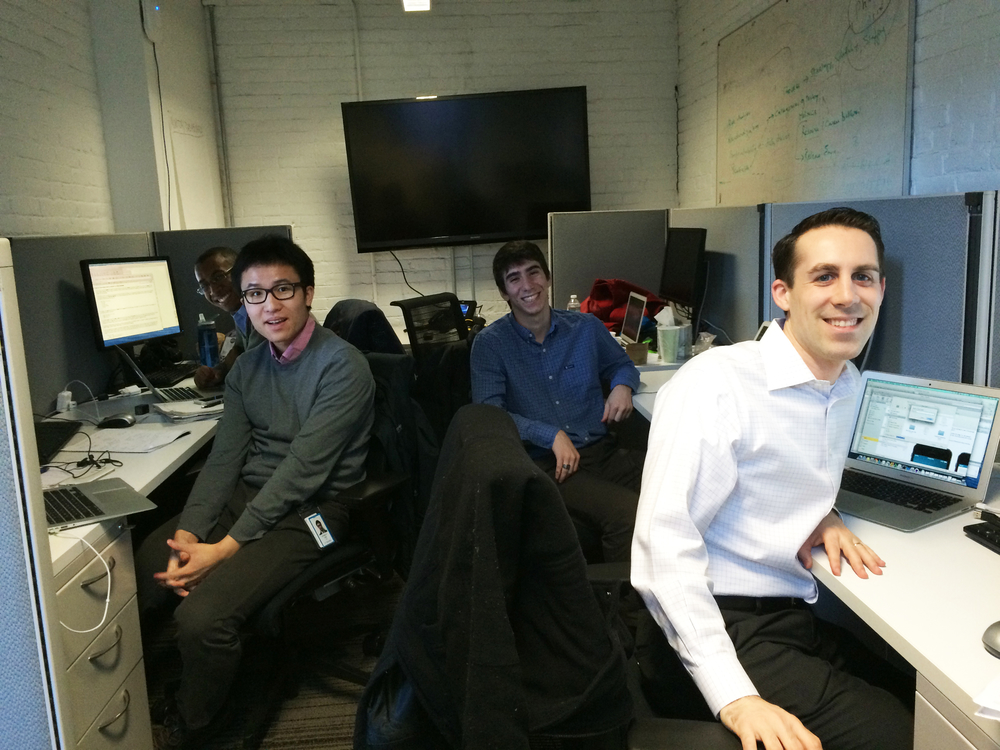 MIT students who externed at NASDAQ earlier in 2015,