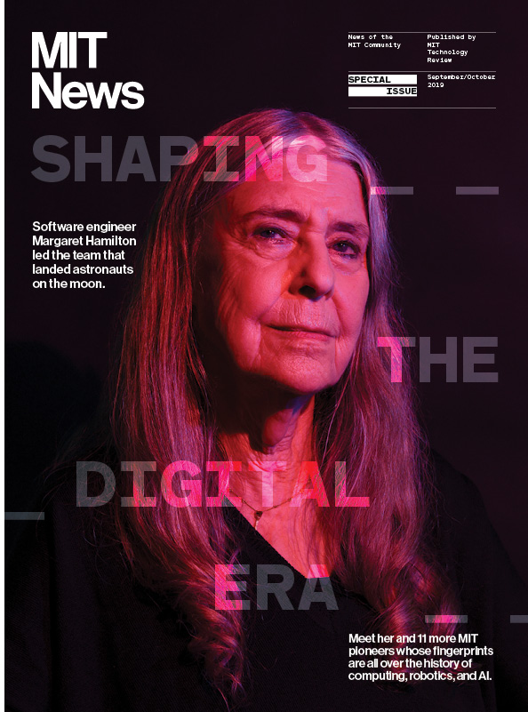 MIT News magazine Sept/Oct 2019 cover