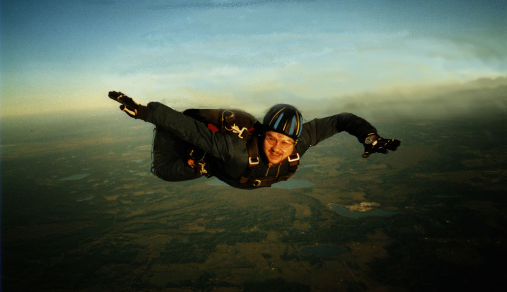 Peter Colao, skydiving