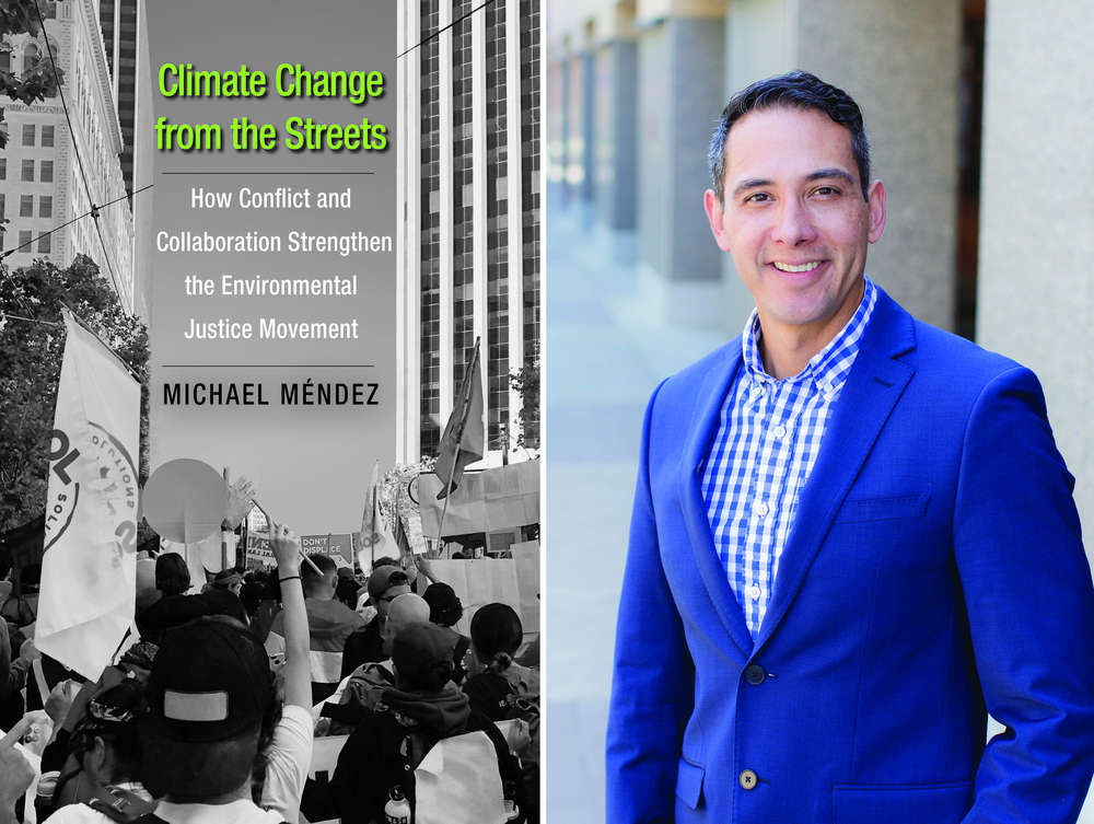 Mendez and his new book, Climate Change from the Streets