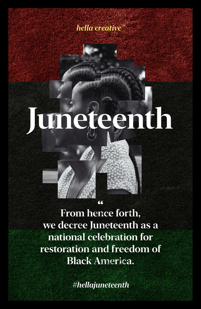 Poster for HellaJuneteenth