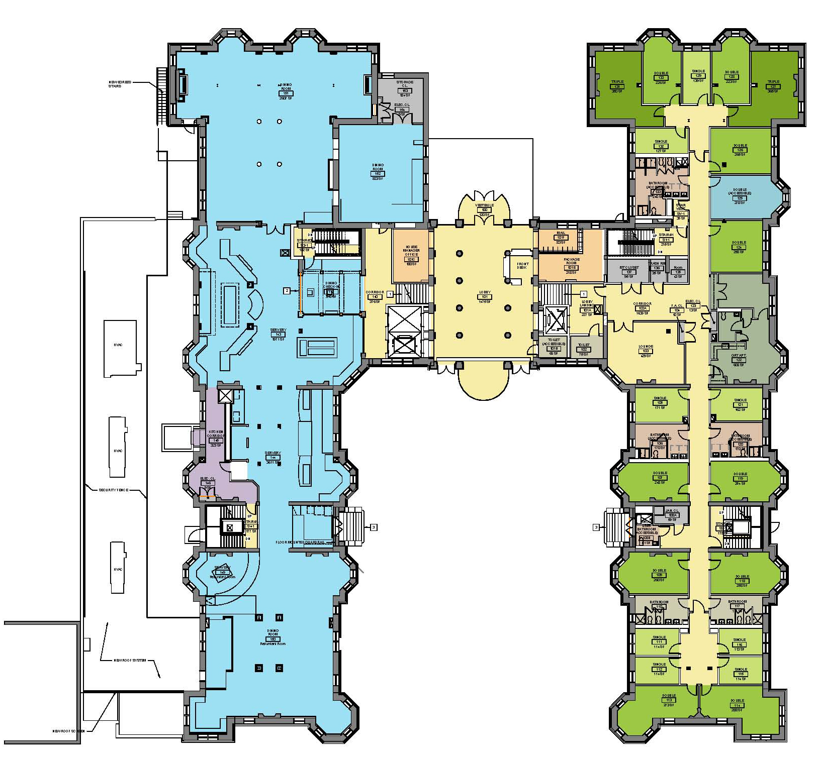 Secrets of george eastman and w 1 for Floor plans brown university