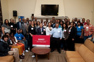 Alumni gathered at the 2013 BAMIT reception after commencement. BAMIT celebrated its 35th anniversary this spring.
