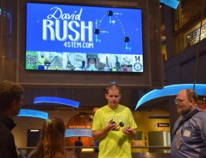 Rush broke a juggling record at the Museum of Science -- for STEM.