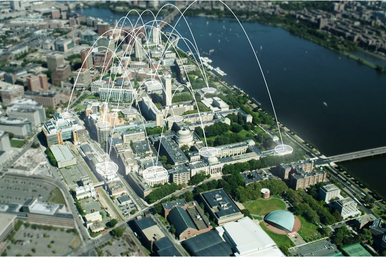 Matthew Claudel's thesis involves studying the MIT campus and pathways for collaboration.