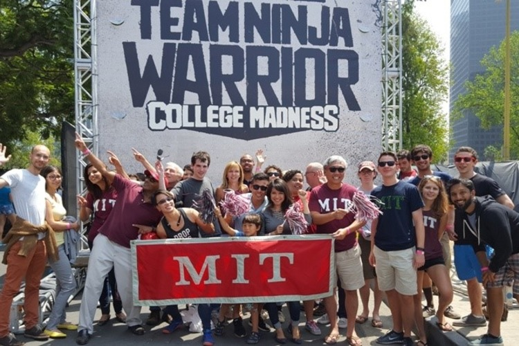 The MIT Club of Southern California organized a cheering section during the show's two days of taping.