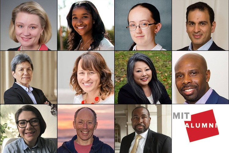 Grid of headshots of the MITAA president, president select, and new directors