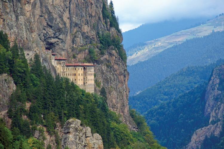 Sumela Monastery / photo credit Allen Langdale