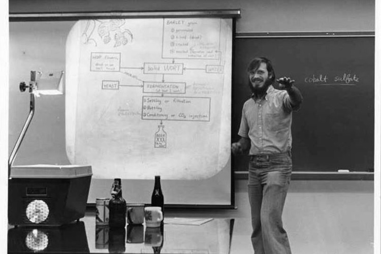 An early beer brewing IAP course. Photo: MIT Museum