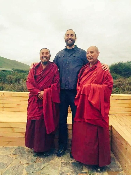 Bill Johnson '09 is coaching basketball in the eastern Tibetan region of Zorge Ritoma.