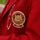 MIT alumni don red jackets. Photo: Dominick Reuter