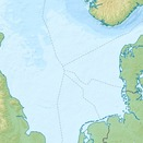 A map of the North Sea region
