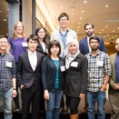Officers of the MIT Postdoctoral Association.