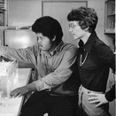 Margaret MacVicar with a UROP student in 1979