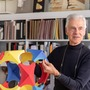 Richard Dattner holding a playcube